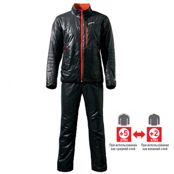 Поддёвка Shimano Lightweight Thermal Muit MD-055M черная